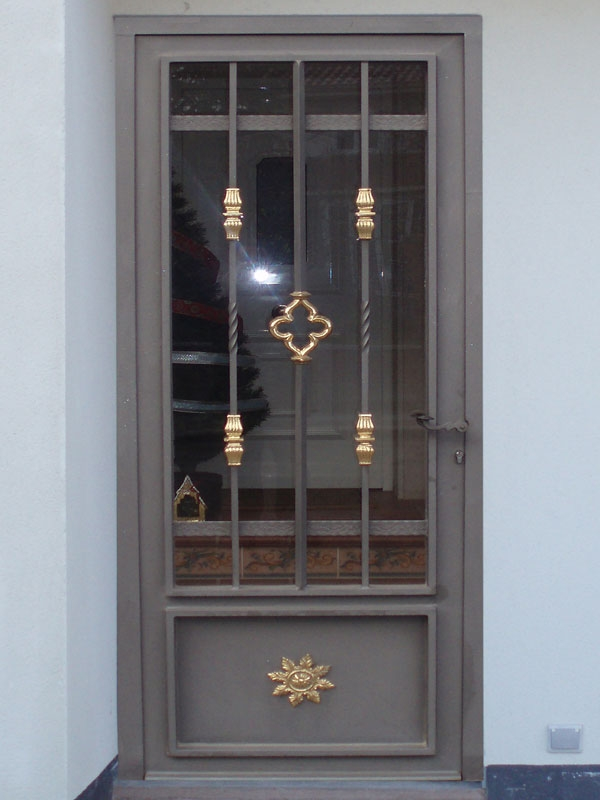 Puertas forja cercados velasco - Puertas forja exterior ...